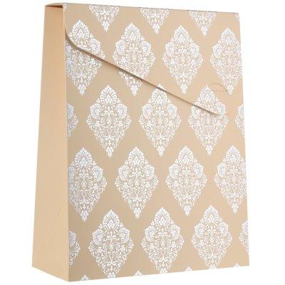 ajándék nagy díszes táska (100 x 40 x 195 mm)