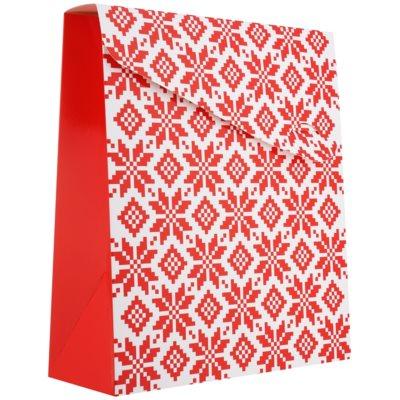 Pungă cadou Crăciun - mică (100 x 40 x 195 mm)