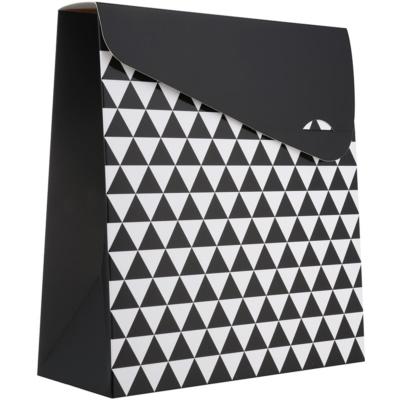1 ud bolsa de regalo geometry grande (140 x 40 x 210 mm)