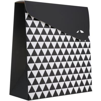 1 szt. pudełko na prezent geometry duże (140 x 40 x 210 mm)