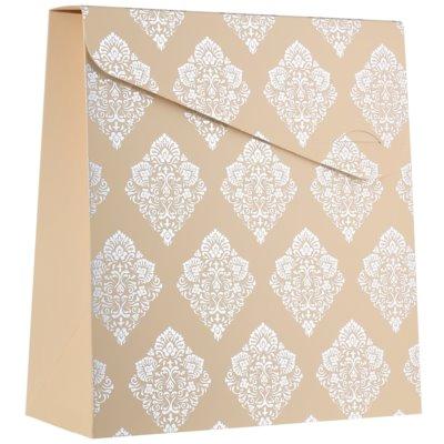 ajándék kis díszes táska (140 x 40 x 210 mm)