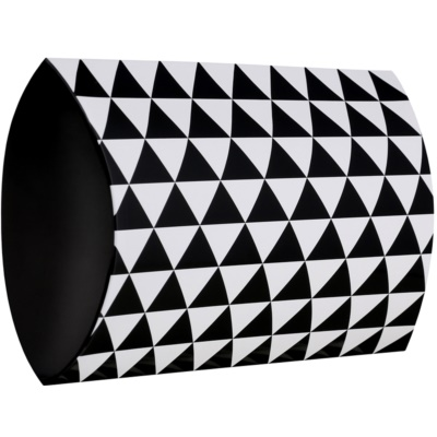 Cutie cadou model geometric - mică (95 x 40 x 130 mm)