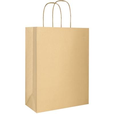 1 ud bolsa de regalo ecológica color dorado - grande (220 x 290 x 100 mm)