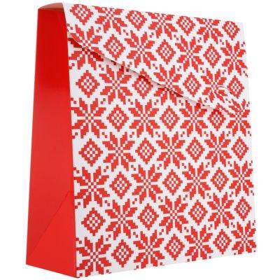 Pungă cadou Crăciun - mare (140 x 40 x 210 mm)