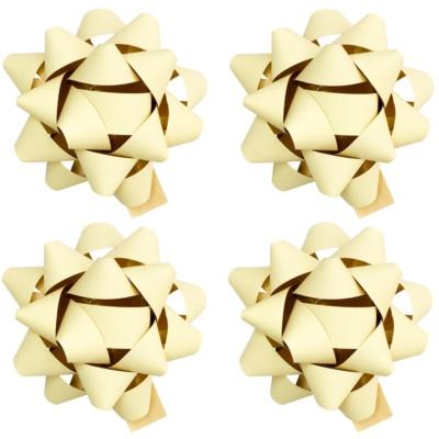 ajándék kis csillag matrica matt 4 db