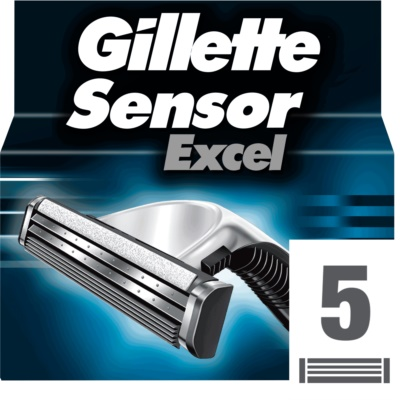 Gillette Sensor Excel tartalék pengék uraknak