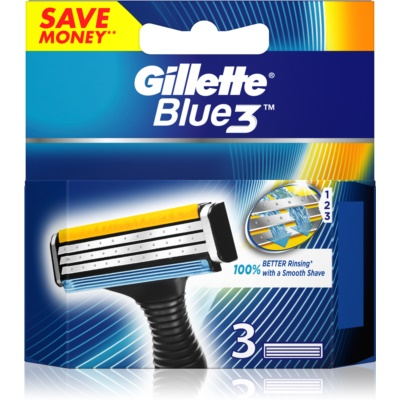 Gillette Blue 3 Replacement Blades