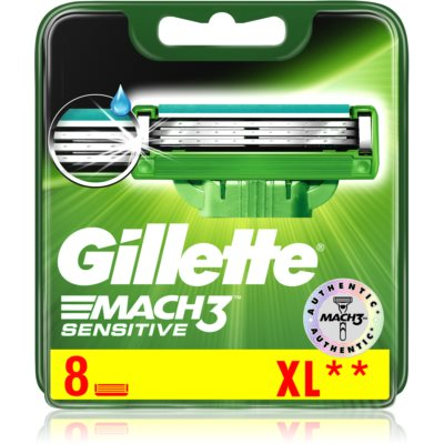 Gillette Mach 3 Sensitive recambios de cuchillas s