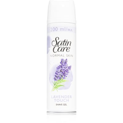 Gillette Satin Care Pure & Delicate gel per rasatura da donna