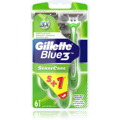 Gillette Blue 3 Sense Care одноразові бритви