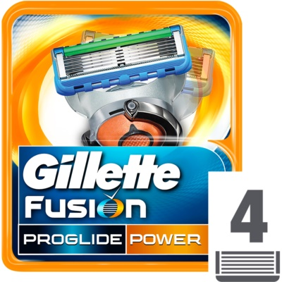 Gillette Fusion Proglide Power lames de rechange