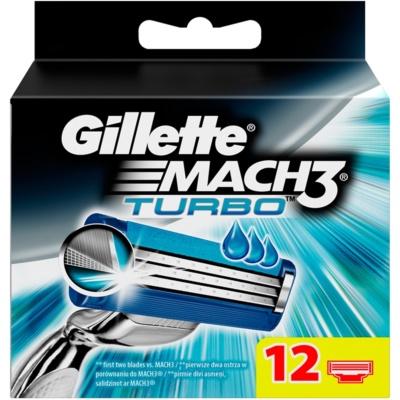 Gillette Mach 3 Turbo náhradné žiletky
