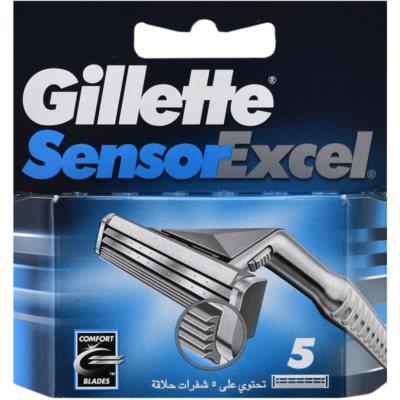 Gillette Sensor Excel zapasowe ostrza dla mężczyzn