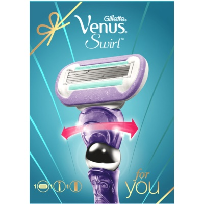 Gillette Venus Swirl Cosmetic Set I.