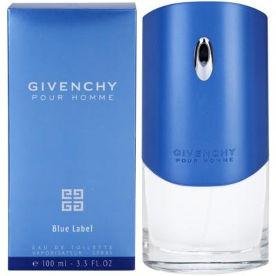 Givenchy Pour Homme Blue Label eau de toilette férfiaknak