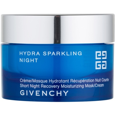 Short Night Recovery Moisturizing Mask and Cream