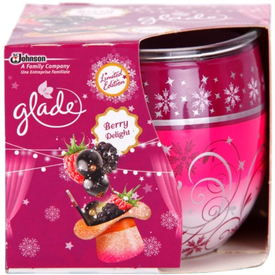 Glade Blackberry Scented Candle