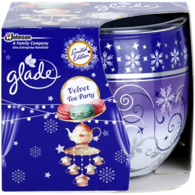 Glade Velvet Tea Party Scented Candle