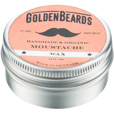Golden Beards Moustache Moustache Wax