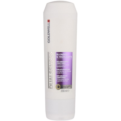 Anti-Brassiness Conditioner For Luminous Blonde & Hightlighted Hair