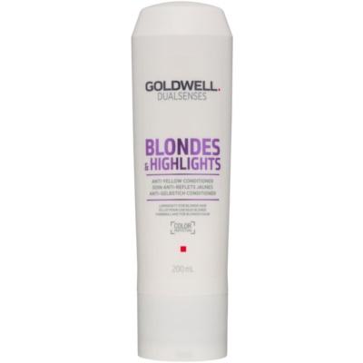 kondicionér pro blond vlasy neutralizující žluté tóny