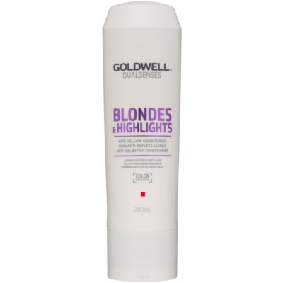 Goldwell Dualsenses Blondes & Highlights Conditioner for Blonde Hair for Yellow Tones Neutralization