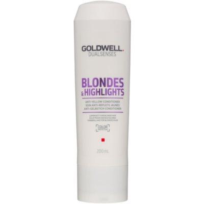 Conditioner für blondes Haar neutralisiert gelbe Verfärbungen