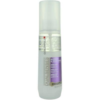 защитен спрей  за коса с кичури