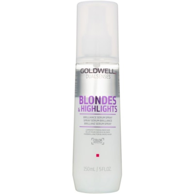 Goldwell Dualsenses Blondes & Highlights sérum sans rinçage en spray pour cheveux blonds et méchés