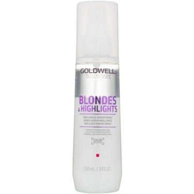 spülfreies Serum im Spray für blondes und meliertes Haar