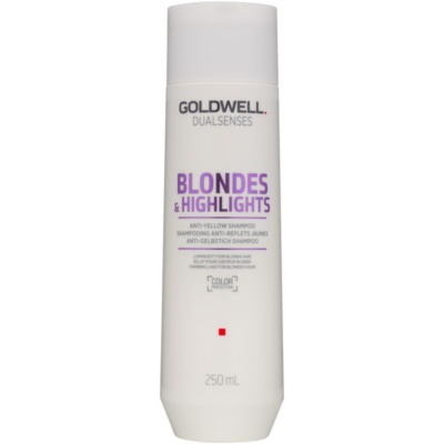 Goldwell Dualsenses Blondes & Highlights Shampoo for Blonde Hair Neutralizes Yellow Tones