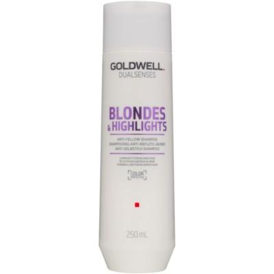 Shampoo für blonde Haare neutralisiert gelbe Verfärbungen