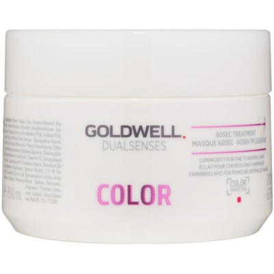 Goldwell Dualsenses Color mascarilla regeneradora para cabello normal y teñido