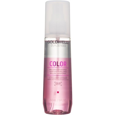 leave-in serum in spray for shine and color protection