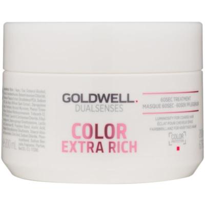 maseczka regenerująca do grubych włosów  farbowanych