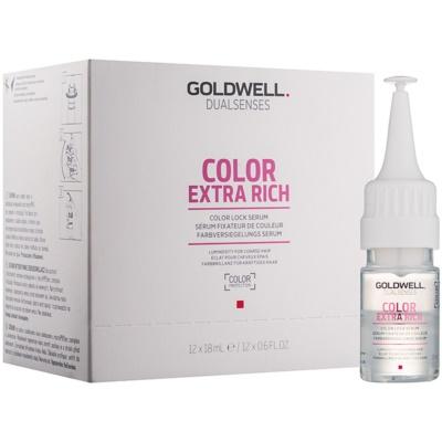 sérum pro ochranu barvy a lesk vlasů