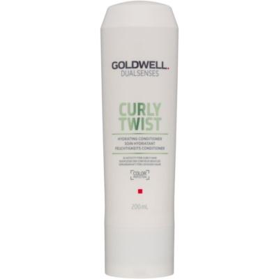 hydratační kondicionér pro vlnité a trvalené vlasy