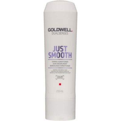 Goldwell Dualsenses Just Smooth Gladmakende Conditioner  voor Onhandelbaar Haar