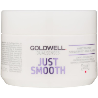 Goldwell Dualsenses Just Smooth máscara alisante para cabelo rebelde