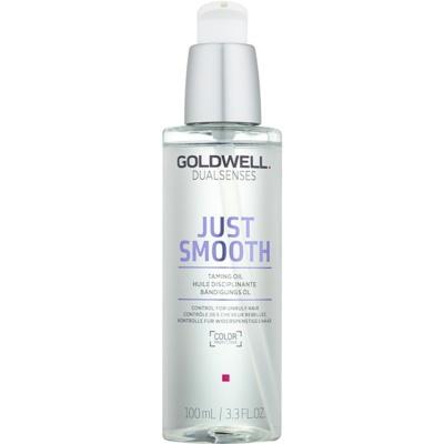 Goldwell Dualsenses Just Smooth olej pro nepoddajné a krepatějící se vlasy