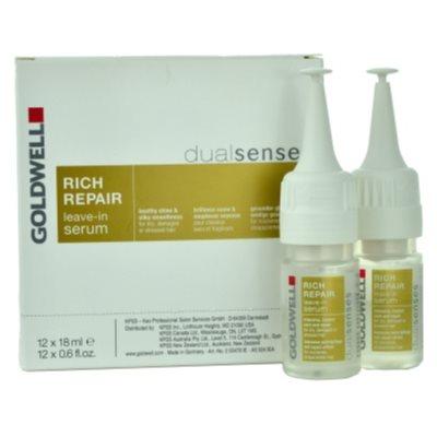 регенериращ и стягащ серум  за суха и увредена коса