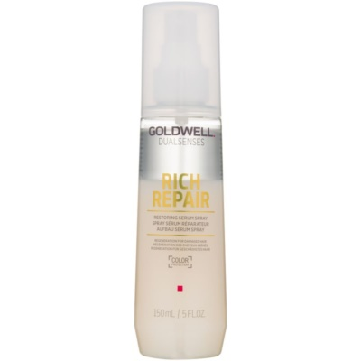 Goldwell Dualsenses Rich Repair sérum en spray sin aclarado para cabello maltratado o dañado