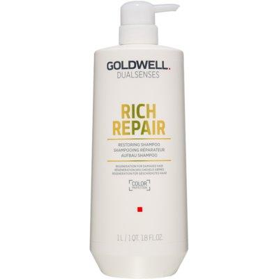 Goldwell Dualsenses Rich Repair erneuerndes Shampoo für trockenes und beschädigtes Haar