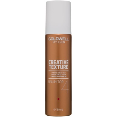 Goldwell StyleSign Creative Texture Unlimitor 4 cire pour cheveux en spray