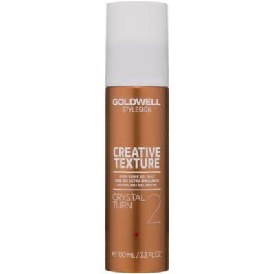 Goldwell StyleSign Texture Crystal Turn 2 Gel Wax  met Hoge Glans