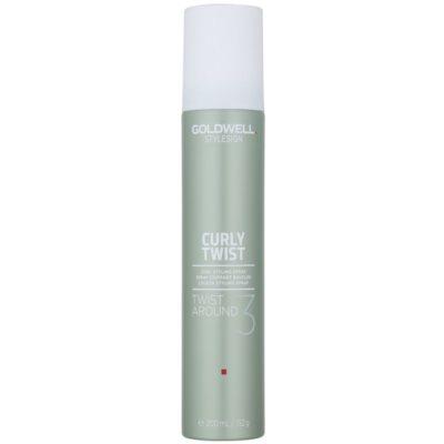 2-w-1 spray do stylizacji włosów kręconych