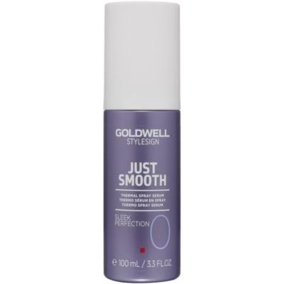 Goldwell StyleSign Just Smooth thermo sérum en spray pour protéger les cheveux contre la chaleur