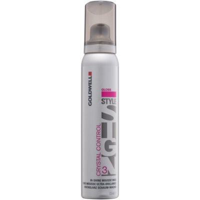 pěnový vosk na vlasy