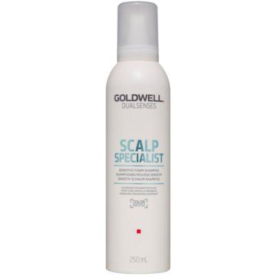 pěnový šampon pro citlivou pokožku hlavy