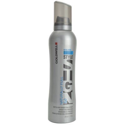 Naturally Full Volume Spray For Natural Fixation